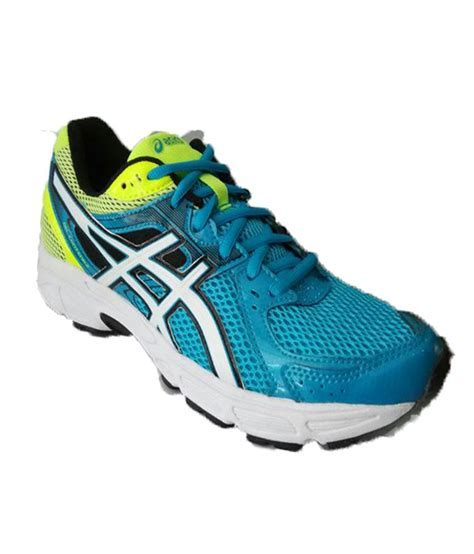 sport shoes asics asics blue meshtextile sport shoes price in india buy
