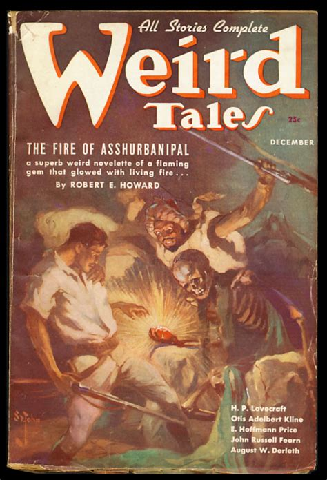 the arcade and other strange tales books the of asshurbanipal in tales december 1936