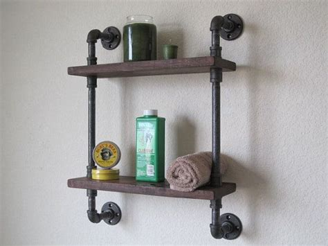 pipe bookshelves bathroom pipe shelf
