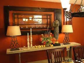 Brown And Orange Home Decor Dining Room Designs Amp Ideas Hgtv
