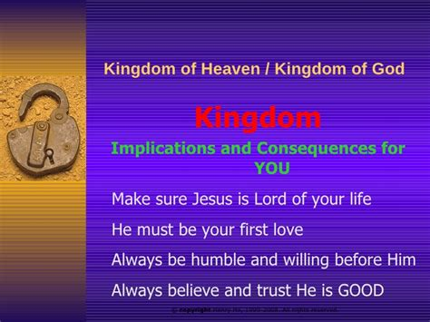 themes of the kingdom of heaven kingdom of heaven