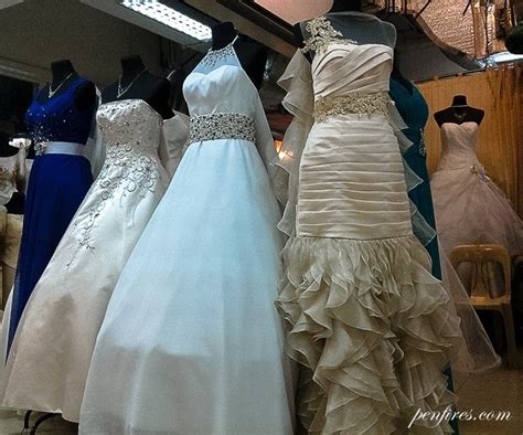 Wedding Hair Accessories In Divisoria by Made In Divisoria My Wedding Gown And Entourage Dresses