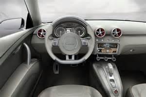 audi a1 sportback concept interieur