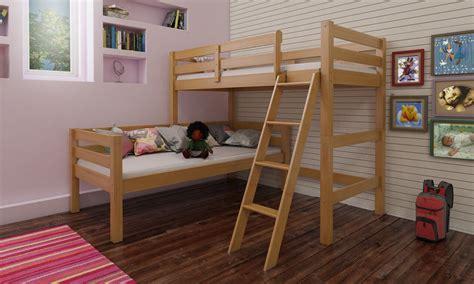 aaron corner bunkbed mattressshopie