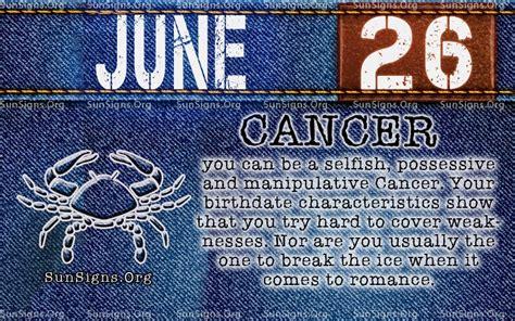 december 26 birthday horoscope zodiac sign personality june 26 birthday horoscope personality sun signs
