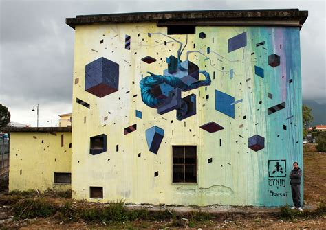 New Etnik by Etnik New Mural For Memorie Urbane Fondi Italy