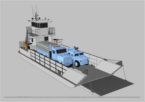 sabrecraft marine landing craft  meter work boat barge commercial vessel boats