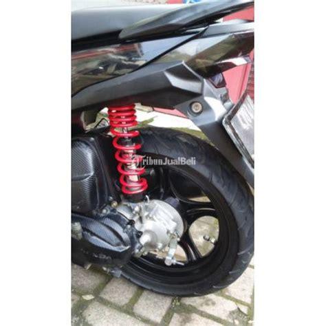 Shock Belakang Beat Fi Variasi Honda Beat Fi 2013 Warna Hitam Modif Variasi Istimewa