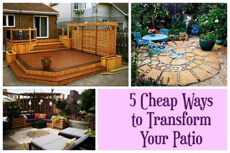 Cheap Patio Cover Ideas