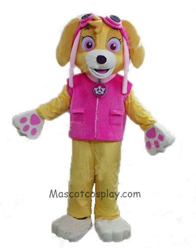 paw patrol costume paw patrol mascot costume fancy suit character