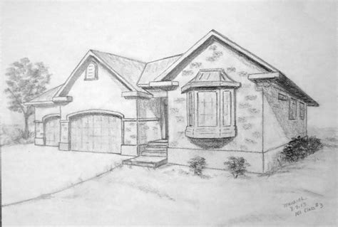 in my s house drawings by wayne t sorenson volume 1 books basic 101 class 3 drawing cubic objects page 17