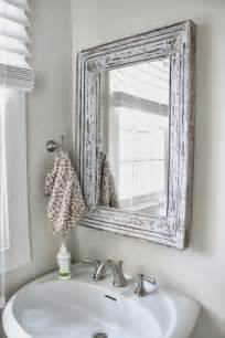 Mirrors In Bathrooms Small Bathroom Chic Mirrors Make Bathrooms Look Bigger Rotator Rod