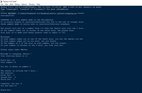 tutorial python text adventure python text based game longgong free source code