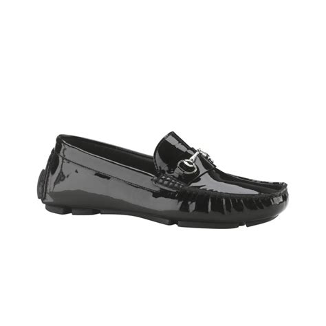 cole haan driving loafers cole haan trillby driving loafers in black black patent