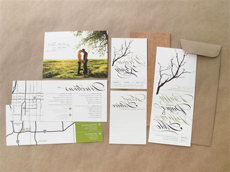 rustic diy wedding invitation kits sunshinebizsolutions
