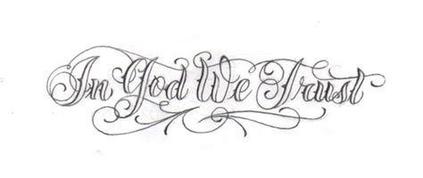 in god i trust tattoo designs in god we trust by lowlife619 on deviantart