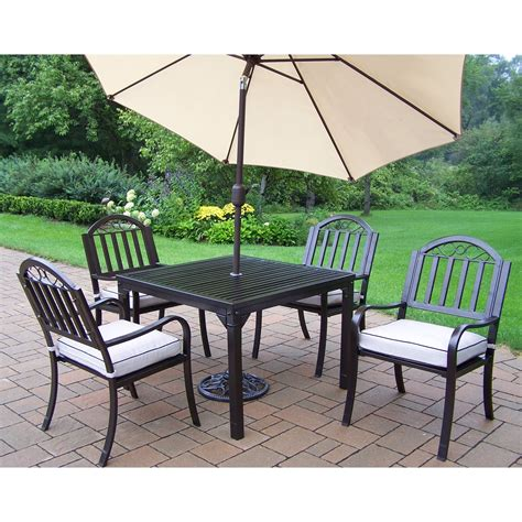 29 beautiful patio furniture dining sets with umbrella