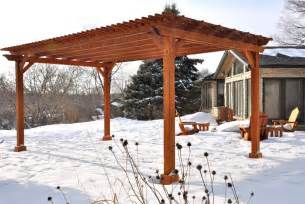 Wood Pergolas by Pergola Designs Upfront How To Build A Wood Pergola In A