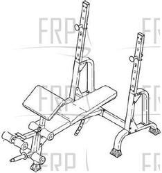 parts of a weight bench gold s gym xr 15 ggbe14821 fitness and exercise