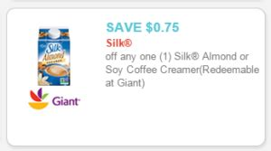 printable coupons for giant grocery store silk milk giant food coupon printable you should get