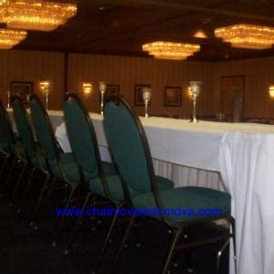 wedding chair covers  dc md va beforeafter