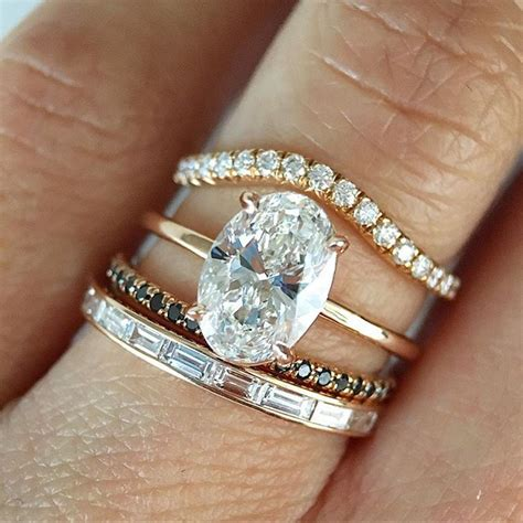 88 25 best ideas about stacked wedding bands on