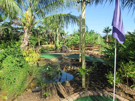 Botanical Gardens Kauai Kauai Mini Golf And Botanical Gardens