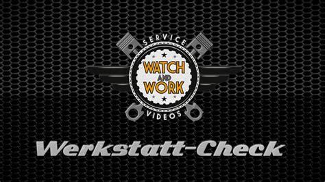 de and work werkstatt check folge 10 contitech - Werkstatt Check