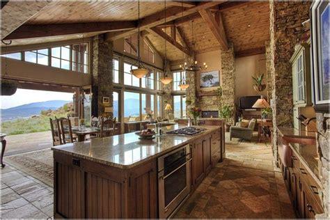 rustic open floor plans southwest residence jj interiors