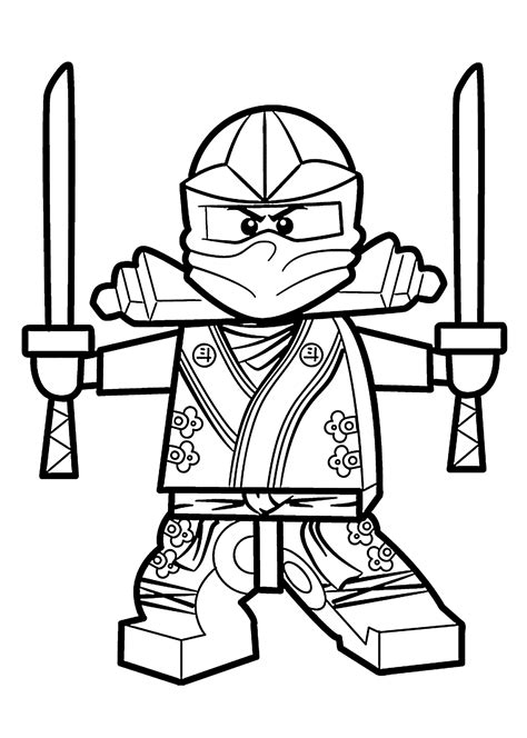 green ninja coloring pages for kids printable free