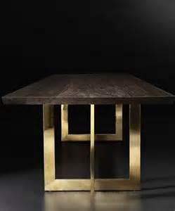 brass leg dining table rh modern s wythe live edge dining table with brass legs