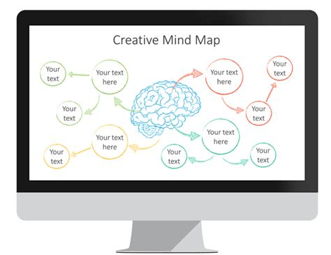 mind map template powerpoint free mind map powerpoint template presentationdeck