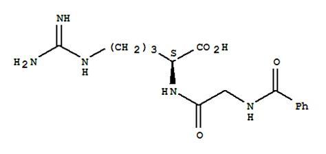 L-Arginine,N-benzoylglycyl- supplier | CasNO.744-46-7 L Arginine Structure