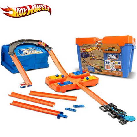 Hotwheels Set 6 wheels car track set plastic multifunctional storage box car track hotwheels track model