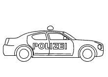 Polizeiauto Selber Malen by Ausmalbilder Polizei Poizeiauto Krankenwagen