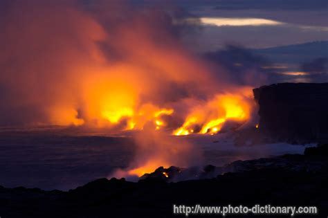 lava meaning lava photo picture definition at photo dictionary