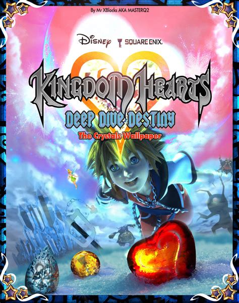 kingdom hearts dive kingdom hearts dive destiny cover by masterq2 on