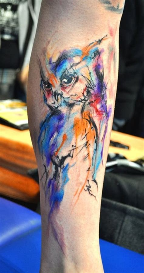 watercolor animal tattoo sleeve 100 arm designs for