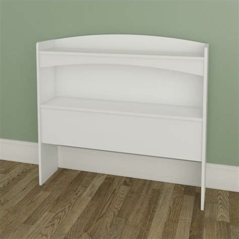 Size Bookcase Headboard by Nexera Vichy Size Bookcase Headboard In White 3638