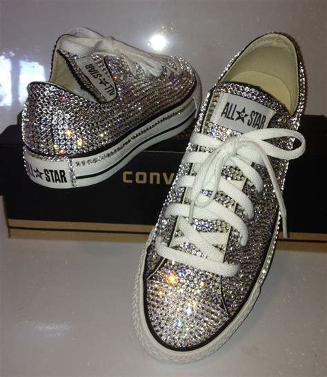 Shoe Bling by Blinged Out Swarovski Converse All Diy