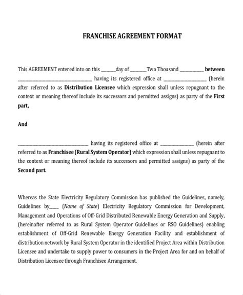 faith agreement template 16 agreement templates free sle exle format