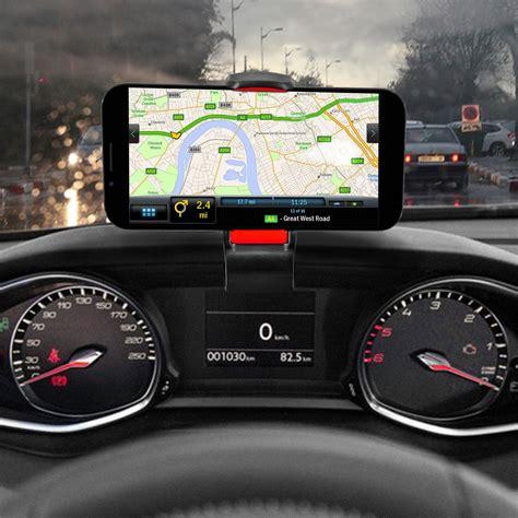 support voiture tableau de bord avec clip universel pour