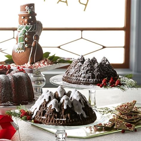 simple recipe for nordic ware christmas holiday tree bundt pan 45 best images about williams sonoma nordic ware on baking pans pumpkin patches and
