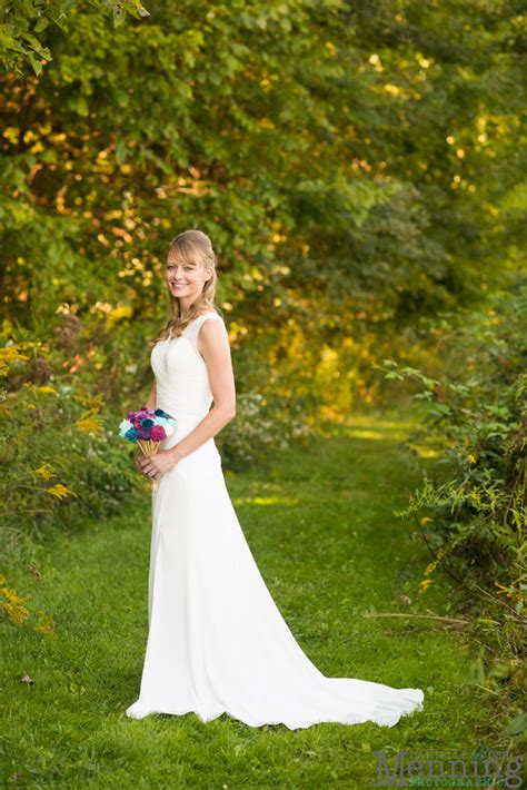 backyard wedding in columbiana ohio