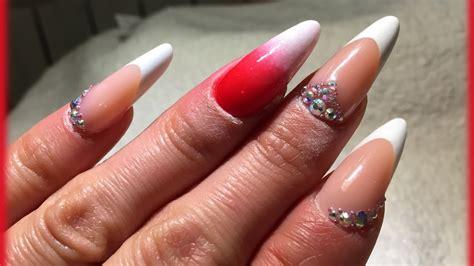 video tutorial 95 nail art ombr verde smeraldo e bianca con effetto nail art sfumato iy99 187 regardsdefemmes