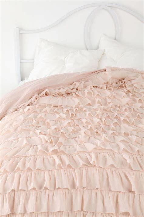 Waterfall Ruffle Duvet Cover waterfall ruffle duvet cover for the home