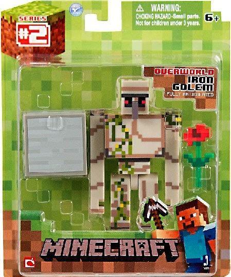 Figure Seri 2 minecraft series 2 iron golem figure overworld
