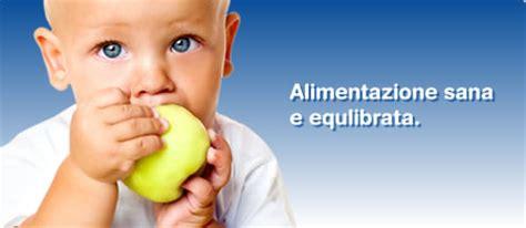 alimentazione sana ed equilibrata il cibo deve essere adeguato alla fase di crescita
