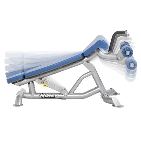 hoist adjustable flatdecline bench fitness distributor