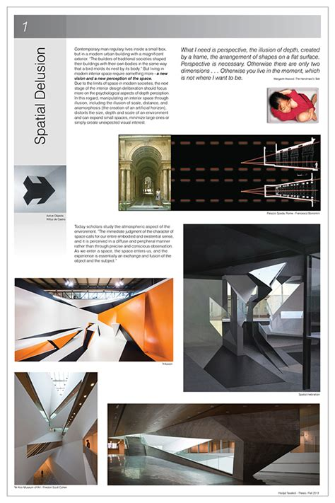 spatial delusion interior design thesis project on behance
